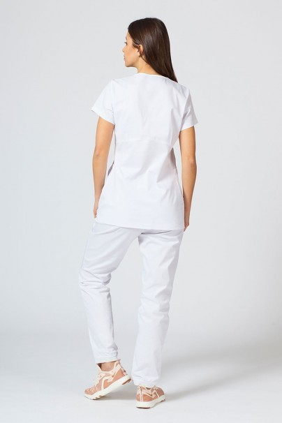 soupravy Zdravotnická súprava Sunrise Uniforms Active biela (s blúzkou Kangaroo - elastic)