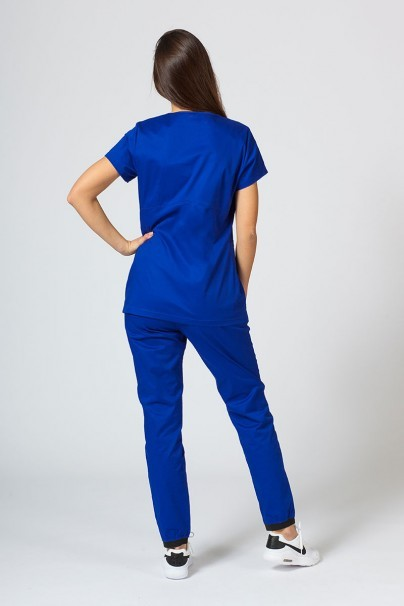 soupravy Zdravotnická súprava Sunrise Uniforms Active tmavo modrá (s blúzkou Kangaroo - elastic)