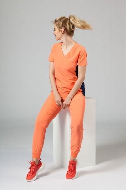 kalhoty-1-1 Dámské nohavice Maevn Matrix Impulse Jogger lososové