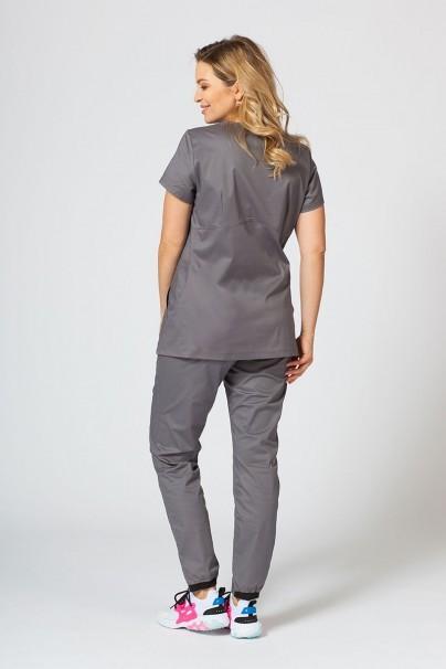 soupravy Zdravotnická súprava Sunrise Uniforms Active šedá (s blúzkou Kangaroo - elastic)
