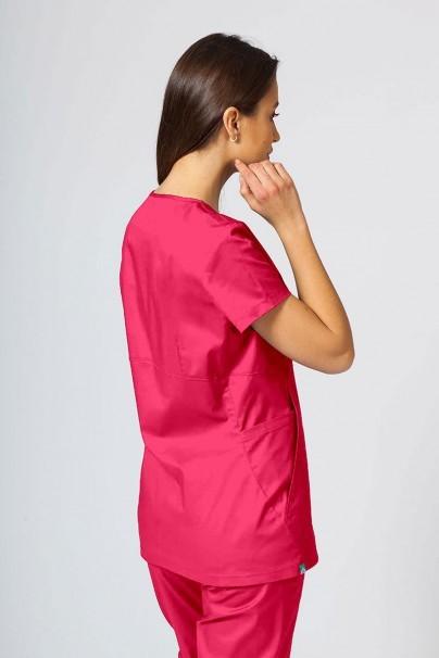 soupravy Zdravotnická súprava Sunrise Uniforms Active malinová (s blúzkou Kangaroo - elastic)