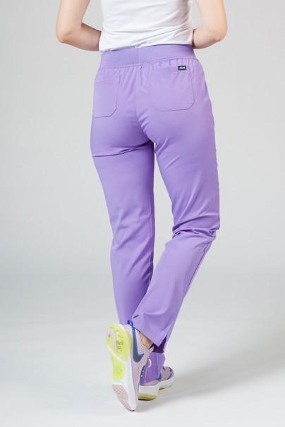 kalhoty-1-1 Dámske nohavice Adar Uniforms Leg Yoga levandulové