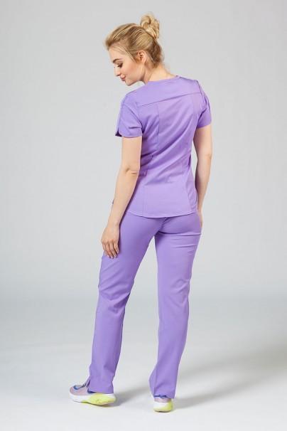 soupravy Lekárska súprava Adar Uniforms Yoga levandulová (s blúzou Modern - elastic)