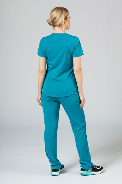 soupravy Lekárska súprava Adar Uniforms Yoga morsky modrá (s blúzou Modern - elastic)