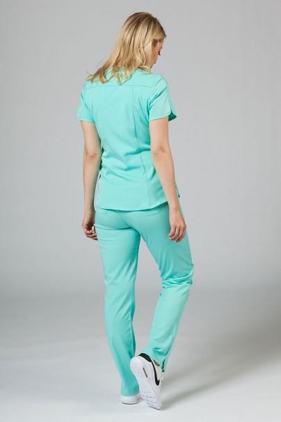 soupravy Lekárska súprava Adar Uniforms Yoga aqua (s blúzou Modern - elastic)