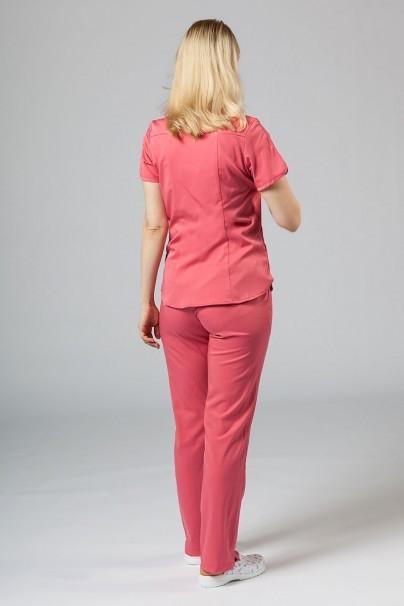 soupravy Lekárska súprava Adar Uniforms Yoga ružová (s blúzou Modern - elastic)