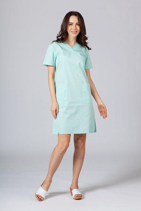 saty-1 Lékařské Jednoduché šaty Sunrise Uniforms
