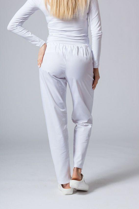 spodnie-medyczne-damskie Univerzální lékarské nohavice Sunrise Uniforms biele