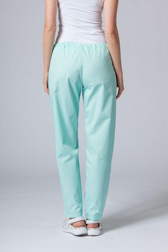 spodnie-medyczne-damskie Univerzální lékařské kalhoty Sunrise Uniforms mátové