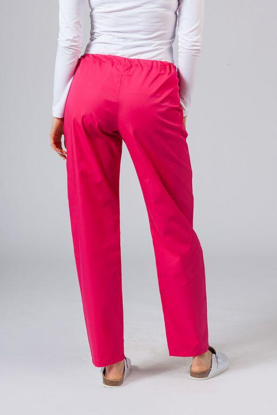 spodnie-medyczne-damskie Univerzální lékarské nohavice Sunrise Uniforms malinové
