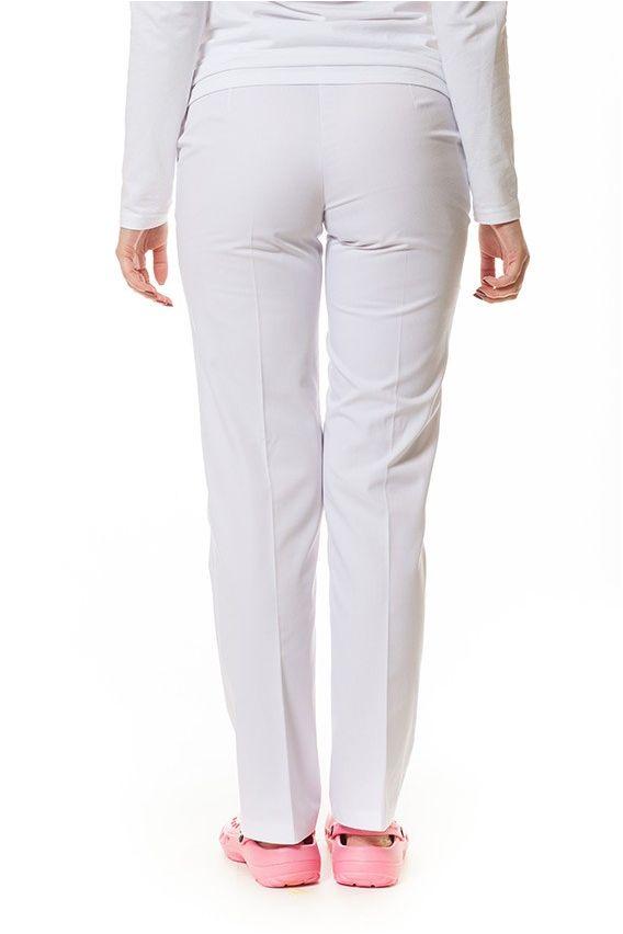 spodnie-medyczne-damskie Lékařské kalhoty Vena Uniforms Bíle