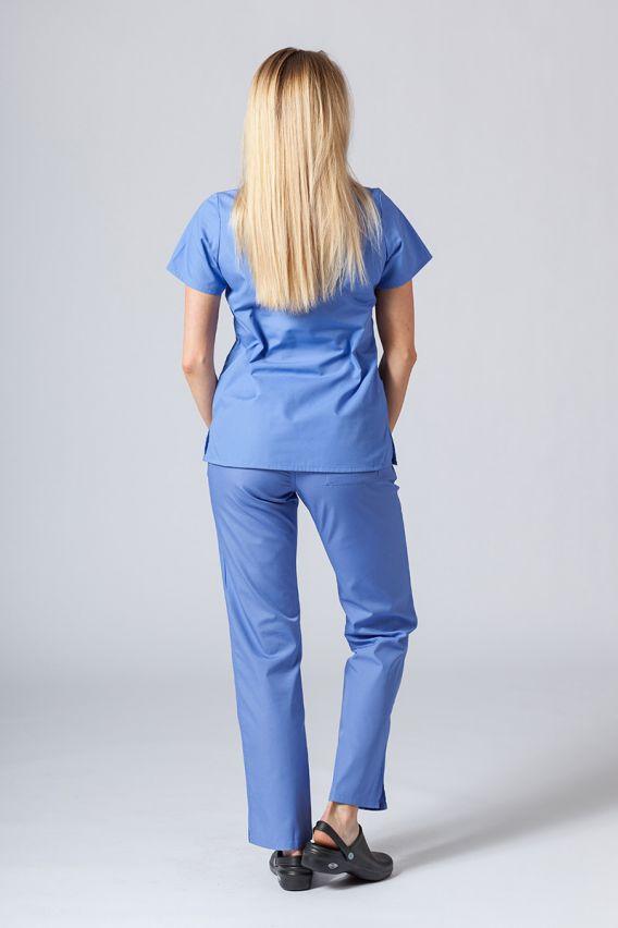 bluzy-medyczne-damskie Lékarská blúzka Maevn Red Panda klasická modrá