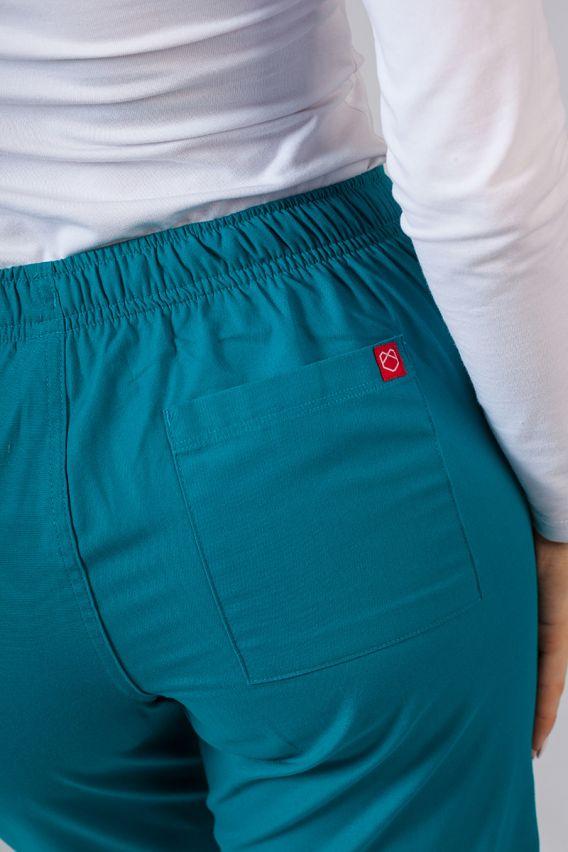 spodnie-medyczne-damskie Lékařské kalhoty Maevn Red Panda mořsky modré