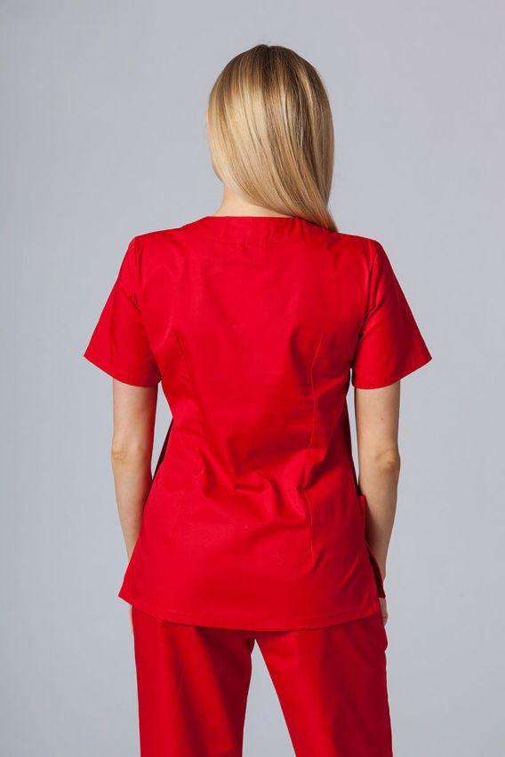 bluzy-medyczne-damskie Lékařská halena Sunrise Uniforms červená