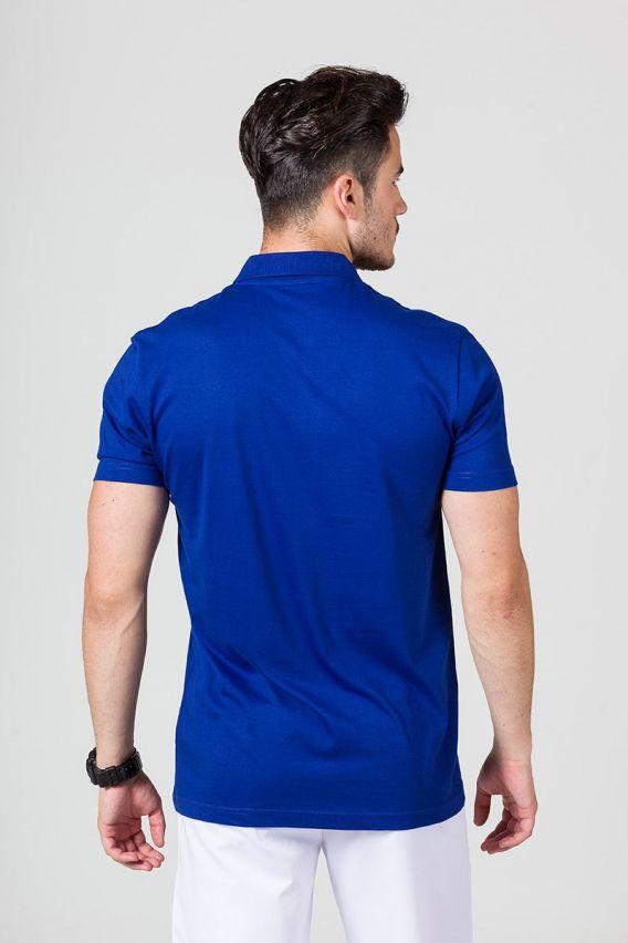 polo-tricka-1 Pánské Polo tričko tmavě modré