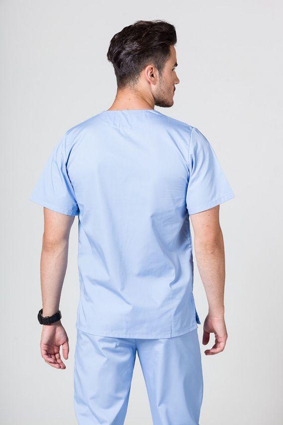 bluzy-medyczne-meskie Univerzálna lekárska blúzka Sunrise Uniforms modrá