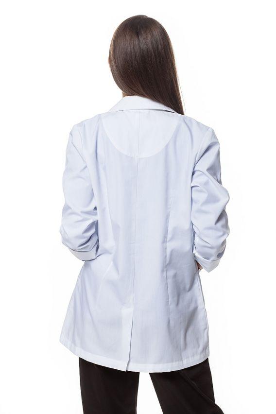 plaste-2 Dámský bílý zdravotnický plášť Maevn Red Panda (krátký)