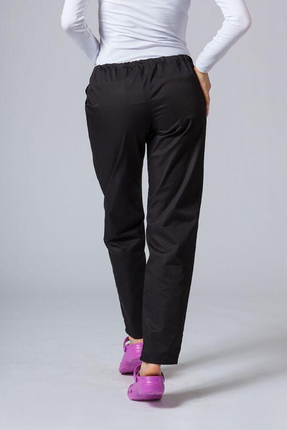 spodnie-medyczne-damskie Univerzální lékařské kalhoty Sunrise Uniforms černé