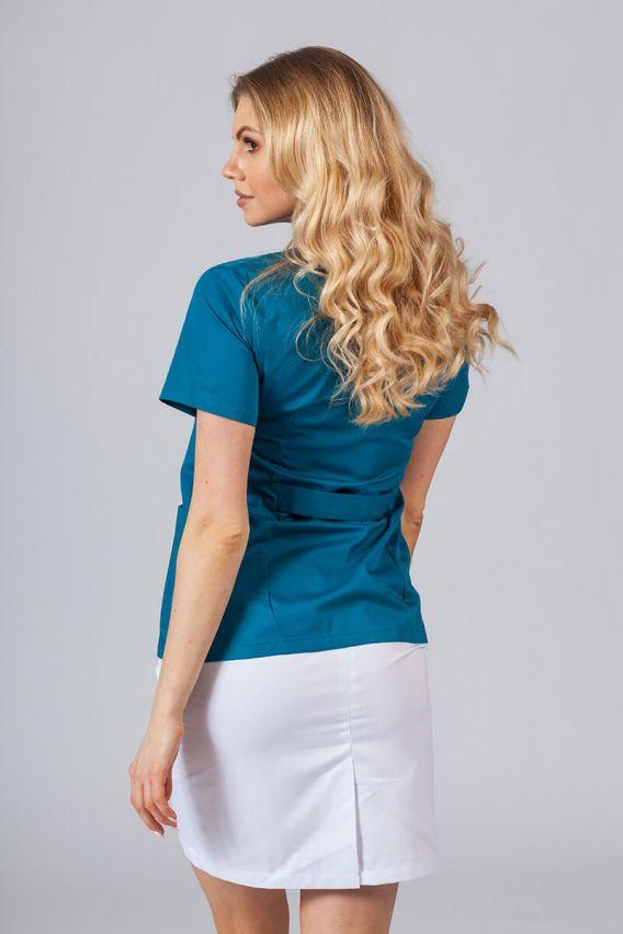 zakiety Lékařské sako 01 Sunrise Uniforms karaibsky modré