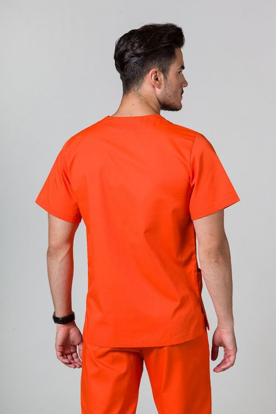 bluzy-medyczne-meskie Univerzálna lekárska blúzka Sunrise Uniforms oranžová