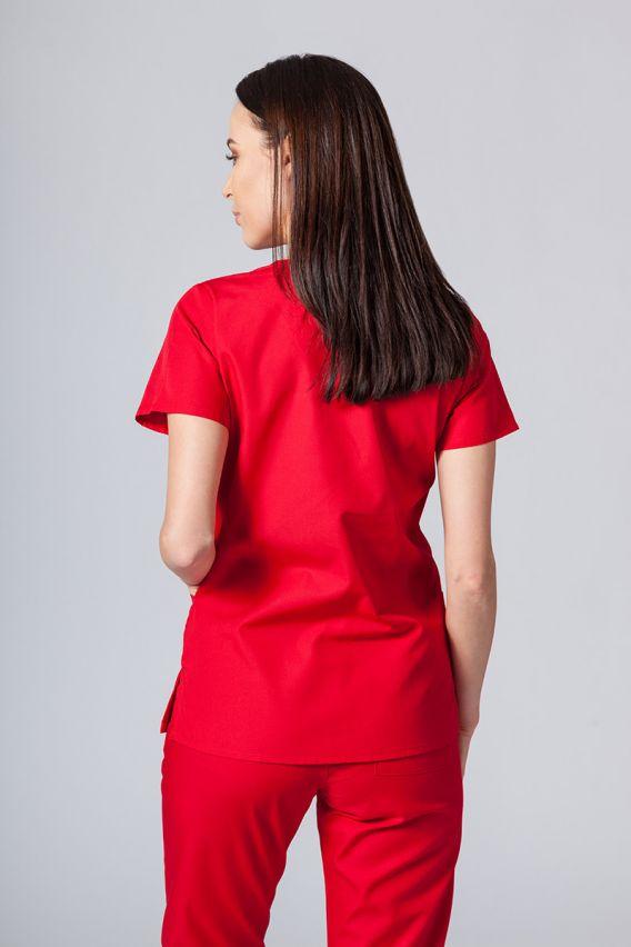 bluzy-medyczne-damskie Lékarská blúzka Maevn Red Panda červená
