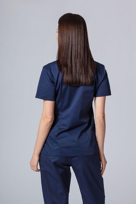 bluzy-medyczne-damskie Lékarská blúzka sunrise uniforms námornícká modrá