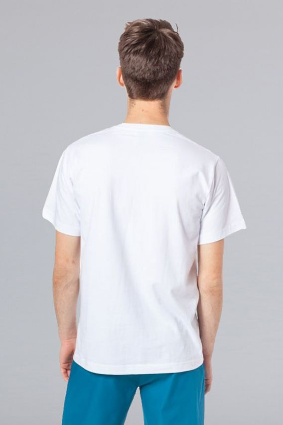 s-kratkym-rukavom Pánské triko bílé