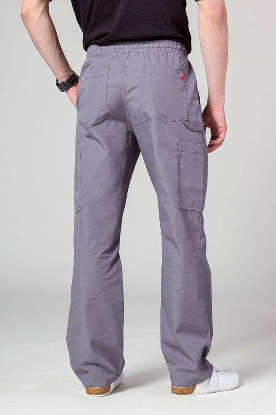 spodnie-medyczne-meskie Pánské lékarské nohavice Maevn Red Panda Cargo (6 kapes) šedé