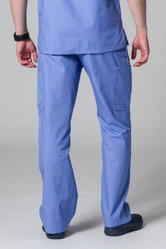 spodnie-medyczne-meskie Pánské lékařské nohavice Maevn Red Panda Cargo (6 kapes) klasicky modré