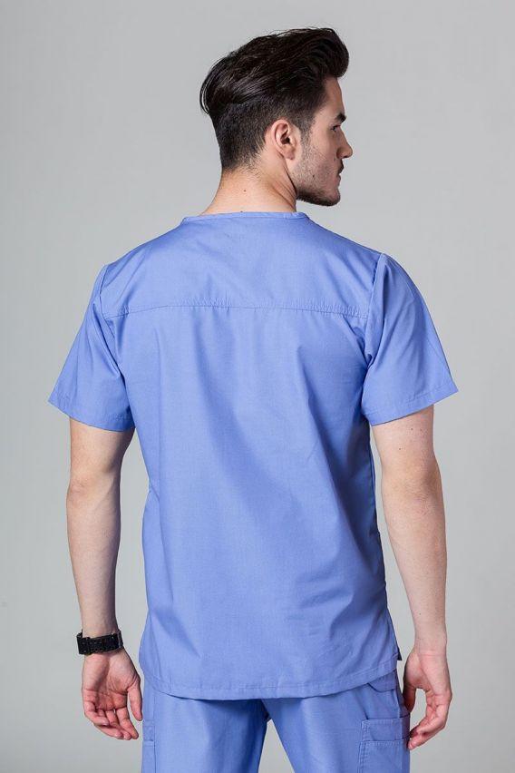 bluzy-medyczne-meskie Pánská blúzka Maevn Red klasicka modrá