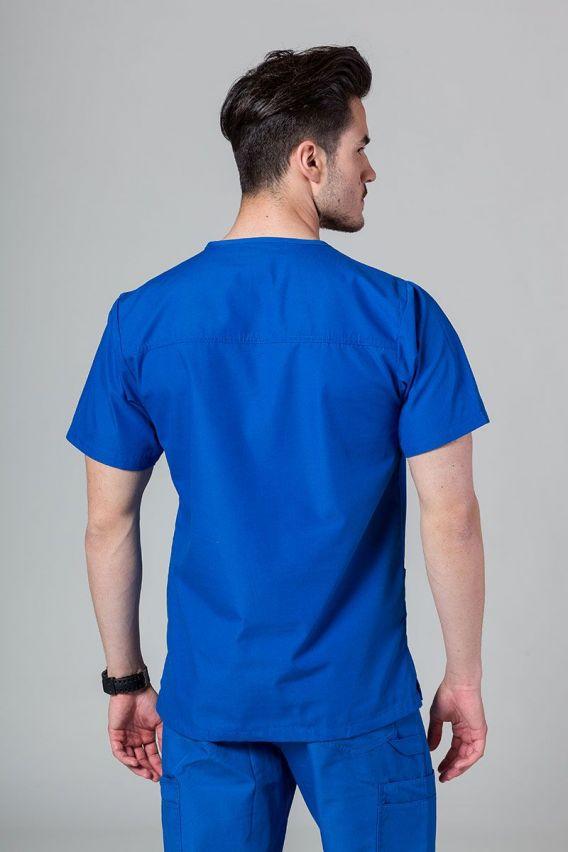 bluzy-medyczne-meskie Pánská blúzka Maevn Red Panda kráľovska modrá