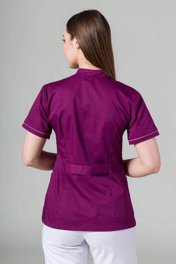 zakiety Lékařské sako 01 Sunrise Uniforms lilkové s malinovým lemem