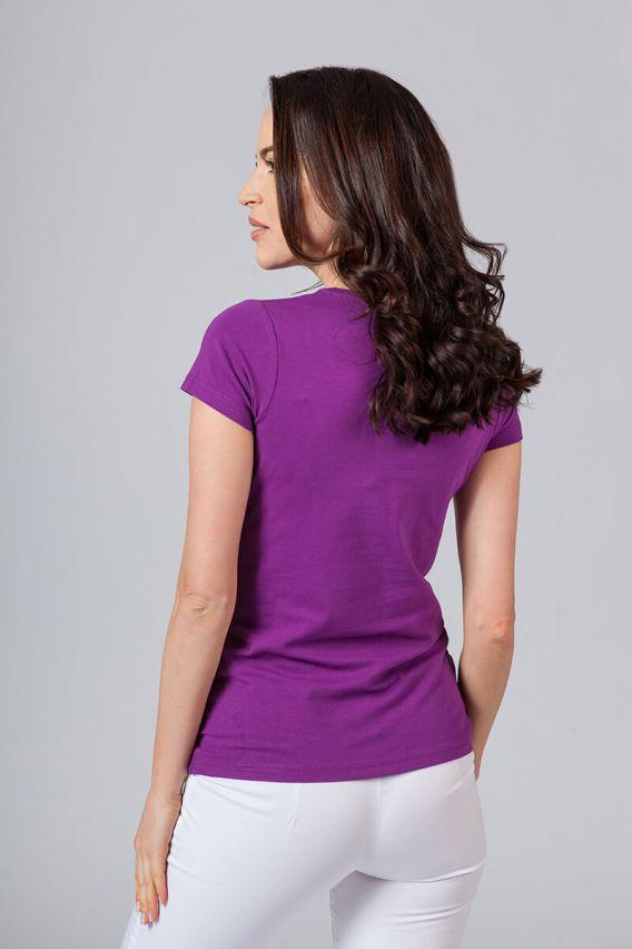 koszulki-medyczne-damskie Lékařská halena fialová