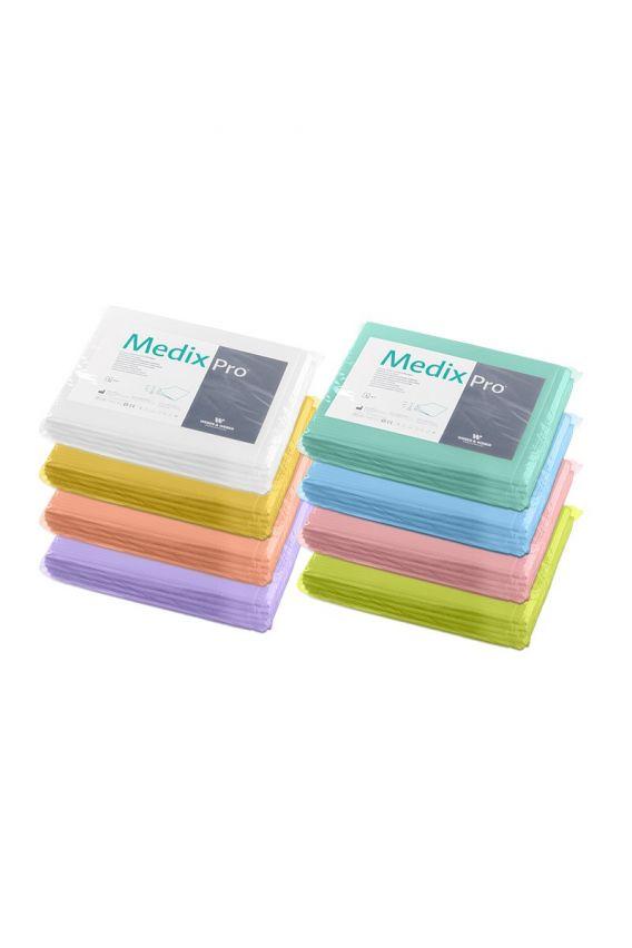 podklady-higieniczne Zdravotnická prostěradla 150x210 cm z buničiny a fólie MedixPro (balení 5 kusů)
