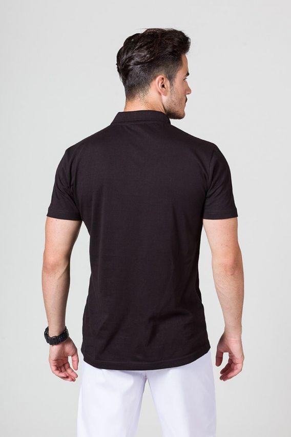 tricka-1-1 Pánské Polo tričko Malfini čierné