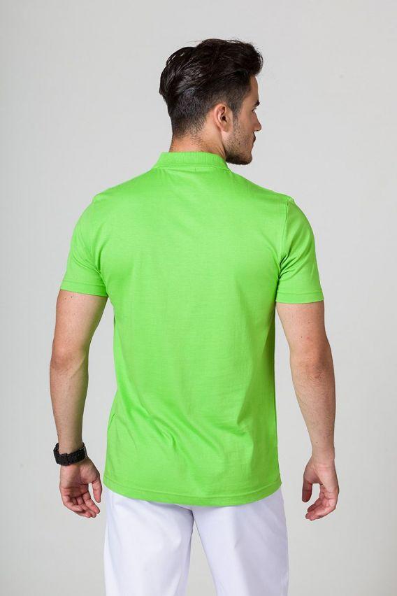 polo-tricka-1 Pánské Polo tričko Malfini zelené jablko