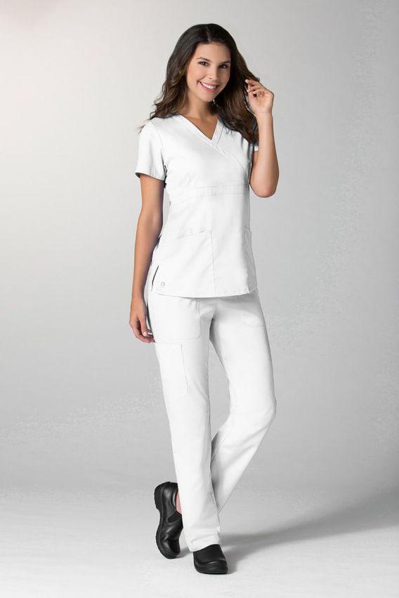 bluzy-medyczne-damskie Dámská blúzka Maevn EON Style biela