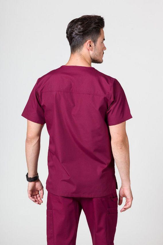 bluzy-medyczne-meskie Pánská lékařská mikina Maevn Red Panda třešňová