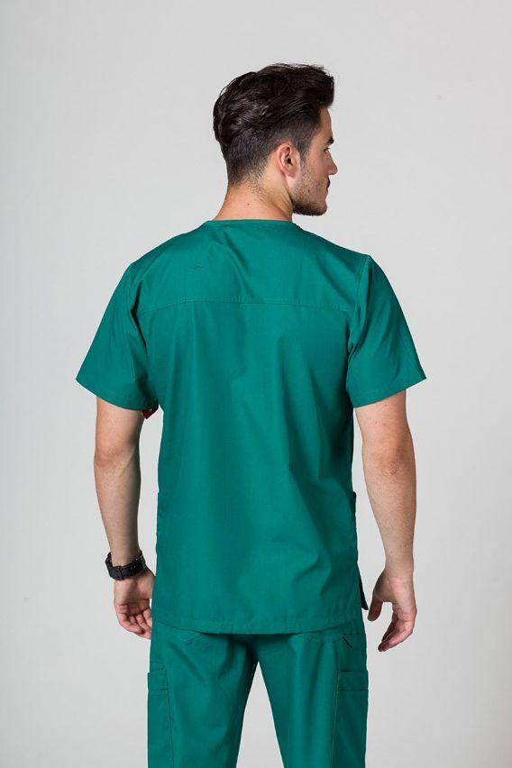 bluzy-medyczne-meskie  Pánská mikina Maevn Red Panda zelená