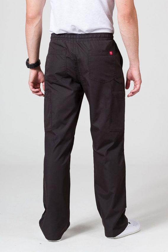 spodnie-medyczne-meskie Pánské lékarské nohavice Maevn Red Panda Cargo (6 kapes) čierné