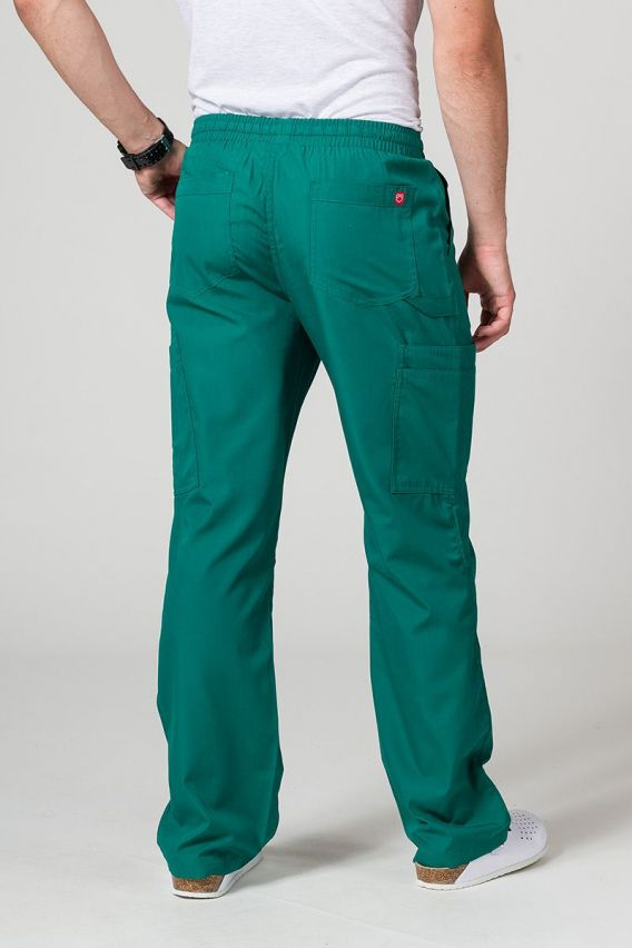 nohavice Pánské lékařské kalhoty Maevn Red Panda Cargo (6 kapes) zelené