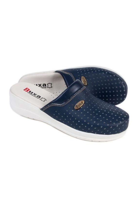 obuwie-medyczne-damskie Zdravotní obuv Buxa model professional Med11 námořnická modř