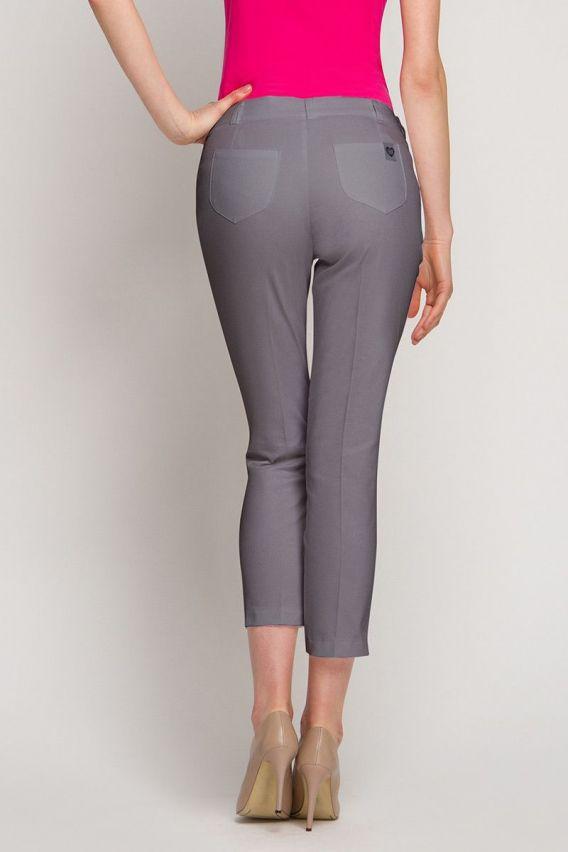 spodnie-medyczne-damskie Dámské úplé zdravotnické kalhoty Vena graphite