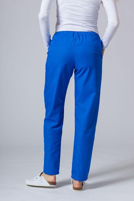 spodnie-medyczne-damskie Univerzální lékarské nohavice Sunrise Uniforms kráľovské modré
