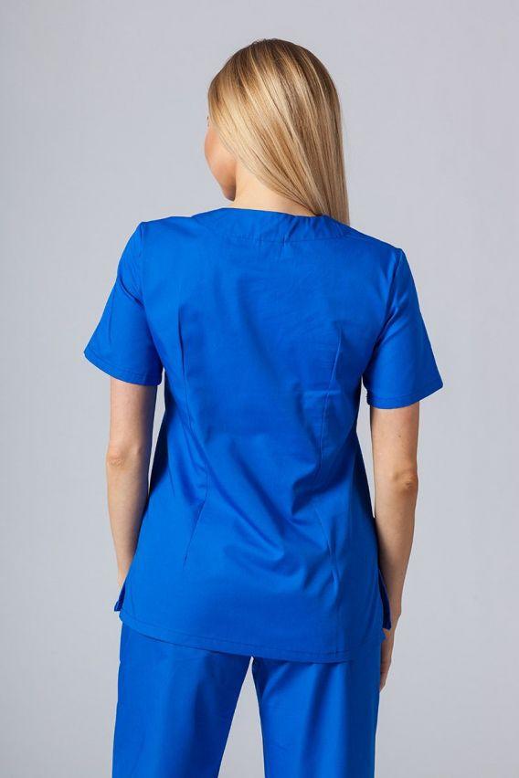 bluzy-medyczne-damskie Lékarská blúzka Sunrise Uniforms kráľovská modrá