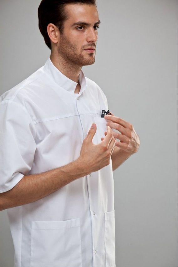 bluzy-medyczne-meskie Blua medyczna uniwersalna Sunrise Uniforms Granatowa
