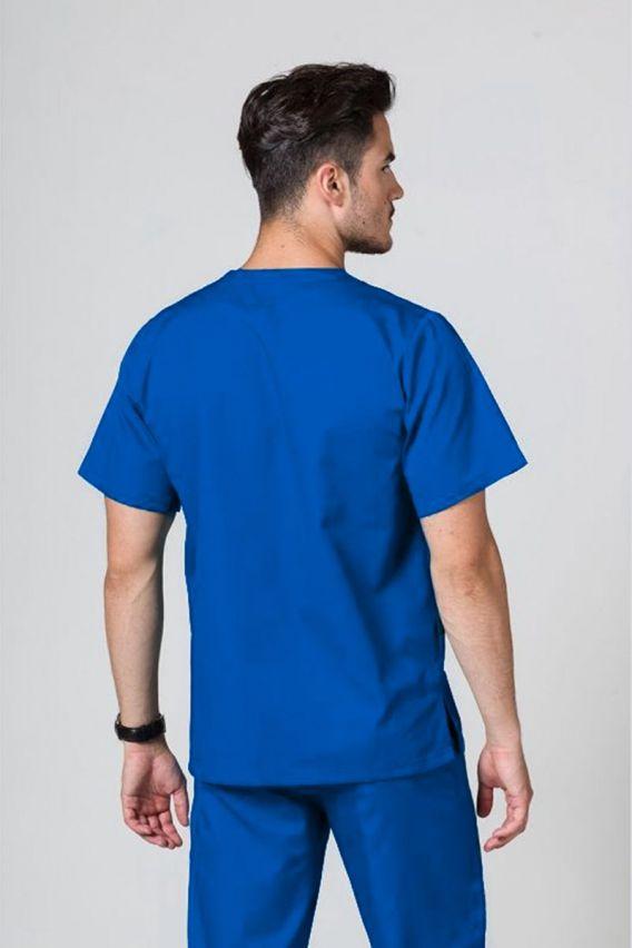 bluzy-medyczne-meskie Univerzálna lekárska blúzka Sunrise Uniforms královska modrá