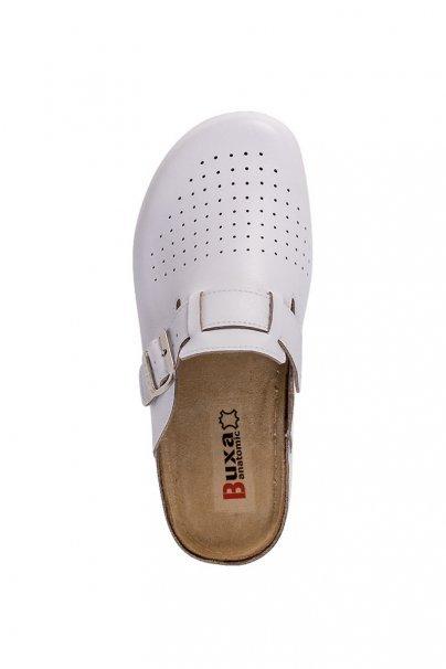 lekarska-obuv-3 Zdravotnícka obuv pre mužov Buxa Anatomic BZ421 biela