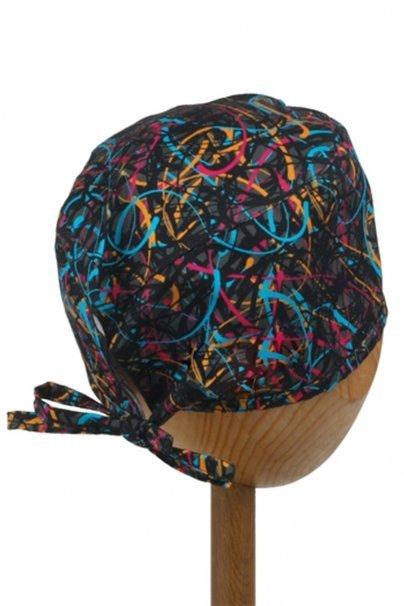 czepki-damskie Zdravotnická čepice Sunrise Uniforms Style Unisex barevné pruhy