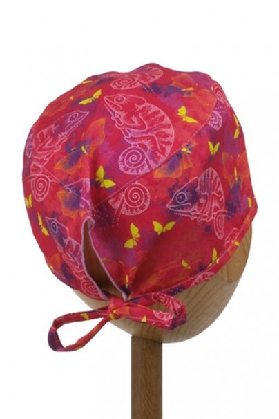 cepice-2 Zdravotnícka čiapka Sunrise Uniforms Style Unisex chameleóny